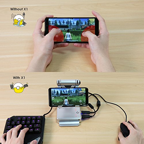 GameSir X1 BattleDock PUBG Mobile FPS Game Controller Mouse and