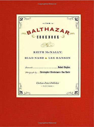 The Balthazar Cookbook - Stores Of Soho In Map