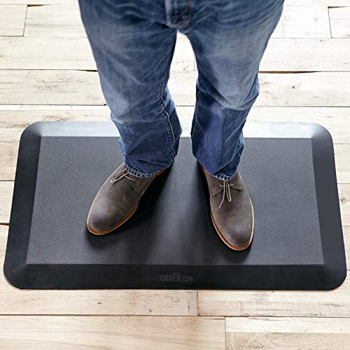VARIDESK-Standing Desk Anti-Fatigue Comfort Floor Mat - Mat (Best Mat For Standing)