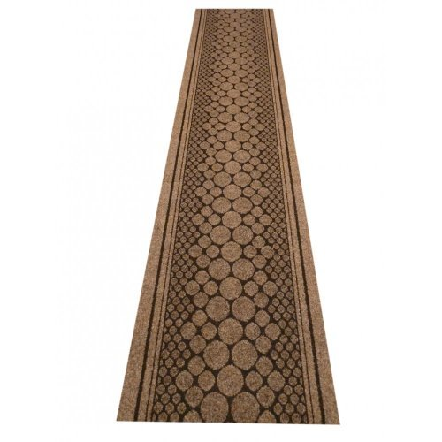 47 Sizes Available - Cork Brown - Sisal Style Carpet Runner Rug Door Mat - Any Length Runners for Hall, Hallways, Passage, Corridor, Kitchen, Caravans by Hallway - Sizes Uk Caravan