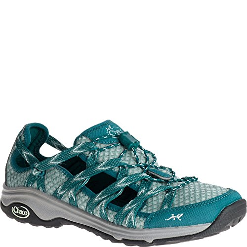 Chaco Women's Outcross Evo Free Teal Athletic Shoe by Chaco