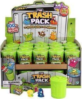 Trash Pack - The Trash Package 680191. 1 Trash Can. Serie 1. Modelo Aleatorio.: Amazon.es: Juguetes y juegos