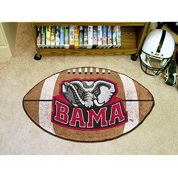 Amazon Com Alabama Crimson Tide 22 Quot X35 Quot Football Floor