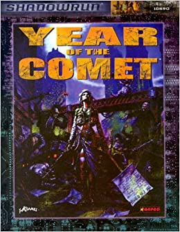 Book Year of the Comet (Shadowrun)