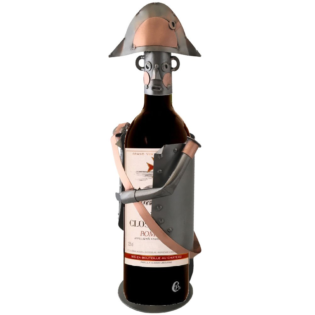 Support metal bottle - Napoleon by Rétro
