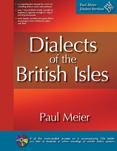 Dialects of the British Isles (includes five CDs)
