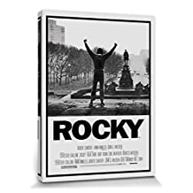 Rocky Stretched Canvas Print - I, Victory (32 x 24 inches)