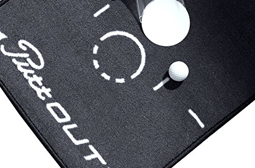 PuttOut Pro Golf Putting Mat - Perfect Your Putting (7.87-feet x 1.64-feet) by PuttOut (Image #4)