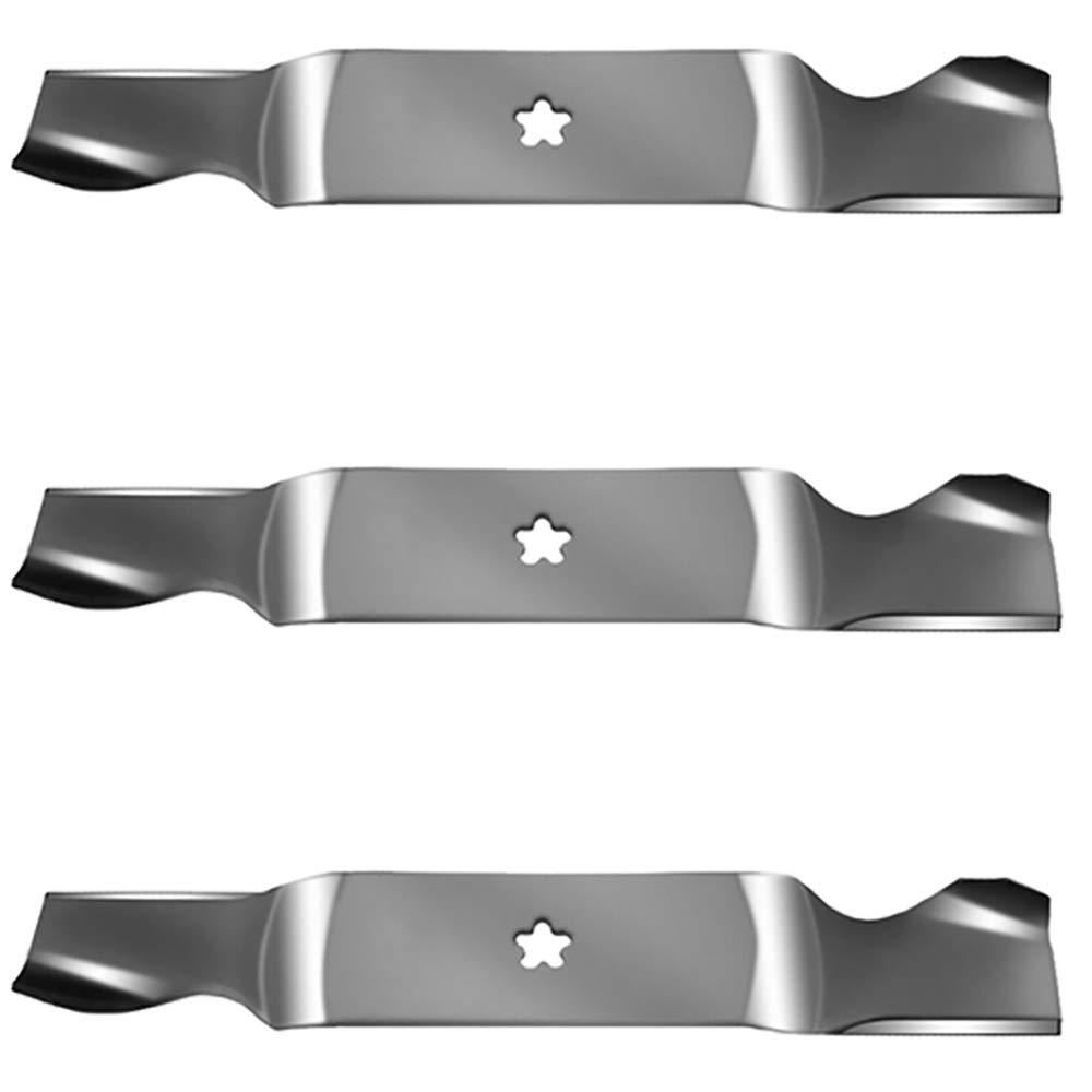 Amazon com: Set of (3) Mower Blades for Husqvarna Lawn Mower