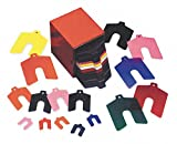 Precision Brand 42904 170 Piece Assorted Size Aa 1″ x 1″ Plastic Color Coded Slotted Shim, Size Aa - 1″ x 1″. Slot Size - 5/16″