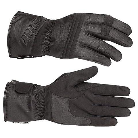 BILT Tempest Waterproof Textile Motorcycle Gloves - XL, Black - Textile Motorcycle Gloves