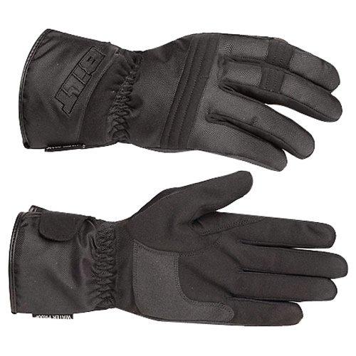 - BILT Tempest Waterproof Textile Motorcycle Gloves - LG, Black