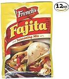 French's Fajita Seasoning Mix - 1oz - 12 Pack