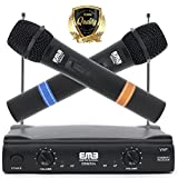 Best EMB Sound System For Homes - EMB VHF Professional Dual Wireless Handheld HIFI Microphone Review