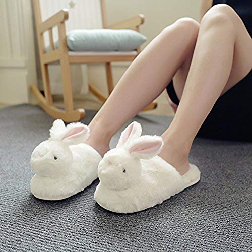 Pantofole Peluche Il Libero Queta Rabbit Per Winter 37 Donna 36 Piatto Pantofole Animal Warming Cute Indooor Piedi Tempo 8qSdRrq7