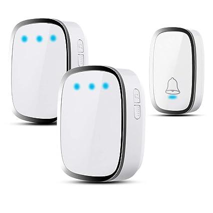 Doorbell Humor 36 Tune Chimes Songs Wireless Doorbell Newest Waterproof Led Digital Remote Control Door Bell Smart Door Bells With Batteries Easy To Repair Security & Protection