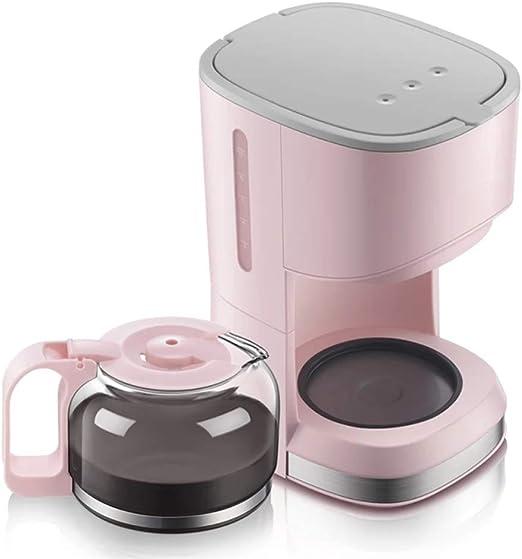 KOUPA Cafetera automática Tipo de Goteo doméstico Mini cafetera pequeña, cafetera de 4 Tazas con Filtro de café y Jarra de Vidrio, Tetera para Preparar té de Doble Uso: Amazon.es: Hogar