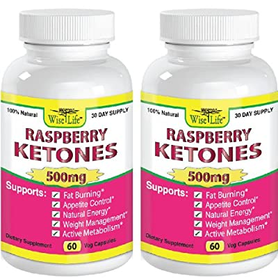 2x Raspberry Ketones Pure & Fresh 500mg Ketone Plus - 60 Vegetarian Caps, Fast Metabolism Diet Pills - Best Max Burn & Lose Fat Quickly Healthy Dieting Pills Proven for Rapid Weight Loss That Works Naturally Fast - Safely Simply Slim At Home with No Side