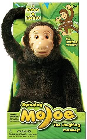 Mojoe Monkey The Hanging Spinning Mojo Laughing Monkey, Spins and ...