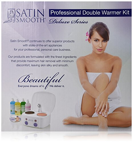 Satin Smooth Double Wax Warmer Kit by Satin Smooth