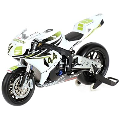 2007 Honda CBR 1000 RR Fireblade [Minichamps 122071244], World Superbike 2007, Team Hannspree Ten-Kate Honda, Roberto Rolfo, 1:12 Die Cast Jeux et Jouets