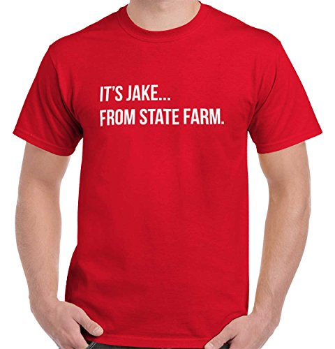 Brisco Brands Jake From State Farm Cool Gift Cute Edgy Sarcastic Funny Gym T Shirt Tee