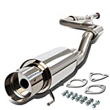 DNA Motoring CBE-HC922 CBEHC922 Stainless Steel Catback Exhaust System
