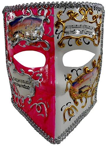 [1Bay Women's Tiki Masquerade Mask O/S Multicolor] (Tiki Mask Costumes)
