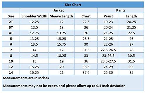 a5ae67ff2de Luca Gabriel Toddler Boys  5 Piece Classic Fit No Tail Formal Black Dress  Suit Set
