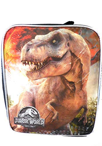 (4SGM Disney 34899 Lunch Bag, Jurassic Park Rectangle, Multicolor)