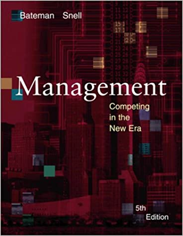 Management competing in the new era thomas s bateman scott snell management competing in the new era thomas s bateman scott snell 9780072482010 amazon books fandeluxe Choice Image