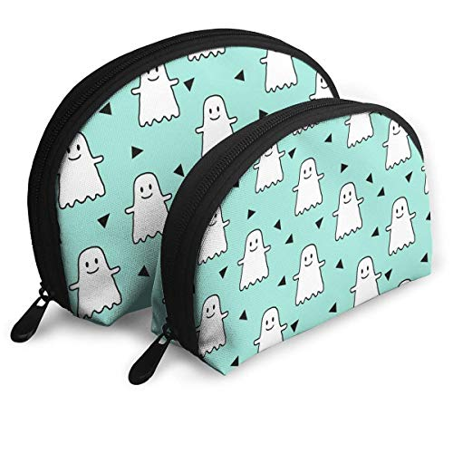 Halloween Ghost Handy Cosmetic Pouch Clutch Makeup Bag. ()