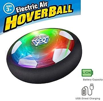 JOKOO Pelota de fútbol para niños con luz LED y topes de PVC ...