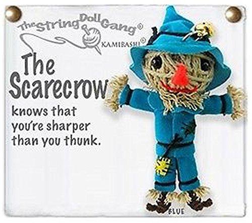 - Kamibashi The Scarecrow Original String Doll Gang Keychain Toy