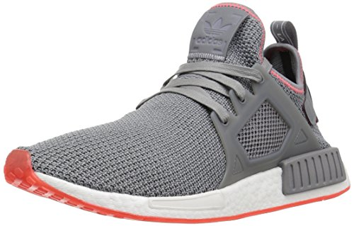 size 40 9f34b 684fb adidas Originals Men's NMD_XR1 Running Shoe, Grey Three/Solar red, 13 M US