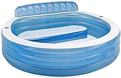 Intex #57190 - Piscina Hinchable Redonda sobre el Suelo: Amazon.es ...