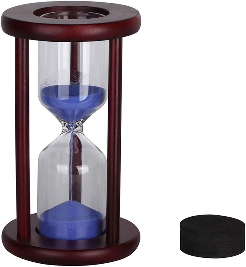 Florawang - Reloj de Arena de Madera de Vino para Decorar el Reloj de Arena, vacío, Poner tu Boda Ceremonia Arena
