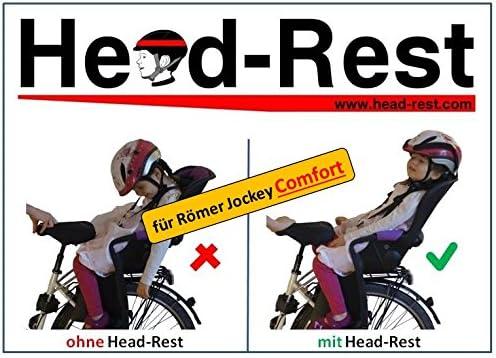 Head Rest Comfort Kinder Kopfhalterung U Nackenstütze Zum Schlafen Im Fahrradsitz Römer Jockey Comfort Komplettset Sport Freizeit
