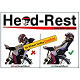Head-Rest Kinder Kopfhalterung u. Nackenstütze zum Schlafen im Fahrradsitz Römer Jockey Relax Comfort Komplettset