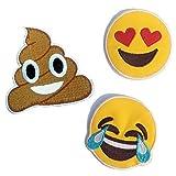(US) Emoji Patches #2 [Super Save Pack 3]