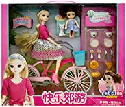 YASSUN Children's Educational Early Childhood Doll Set, Play House Doll for Girl