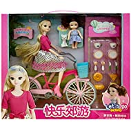 YASSUN Children's Educational Early Childhood Doll Set, Play House Doll for Girl Gift