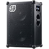 The SOUNDBOKS 2 - The Loudest Portable, Battery Powered, Bluetooth Speaker (122dB, supreme sound, military grade batteries, 40 hours average battery life, extremely durable) - Black