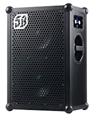 The SOUNDBOKS is the best outdoor Bluetooth speaker system designed for tailgate parties, music festivals and a large range of extreme uses. It is a portable audio system which means it is a travel speaker with no chords and a fully wireless ...