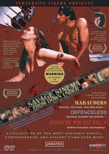 Savage Sinema From Down Under-3 dvd set by Subversive Cinema