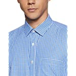 Amazon Brand – Symbol Men's Checkered Regular Fit Full Sleeve Formal Shirt (Combo Pack of 2)