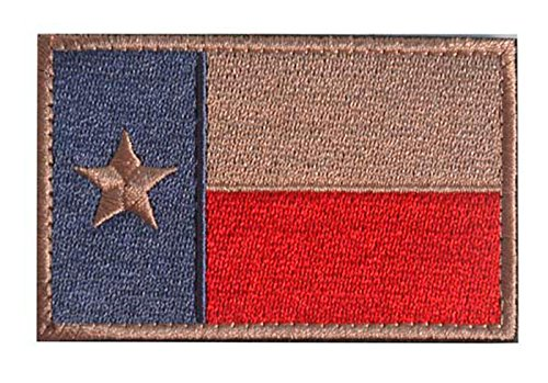 WZT Texas State Flag Patch Morale Patch-Tactical Morale (State Patch Flag Texas)