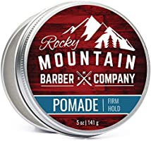Pomade for Men – 5 oz Tub Classic Styling Product with Strong Firm Hold for Side Part, Pompadour & Slick Back Looks – Hig...