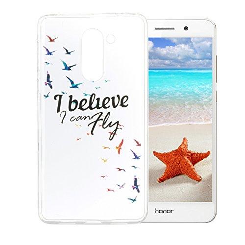 59 opinioni per Cover Huawei Honor 6X Silingsan Cover in Silicone TPU per Huawei Honor 6X