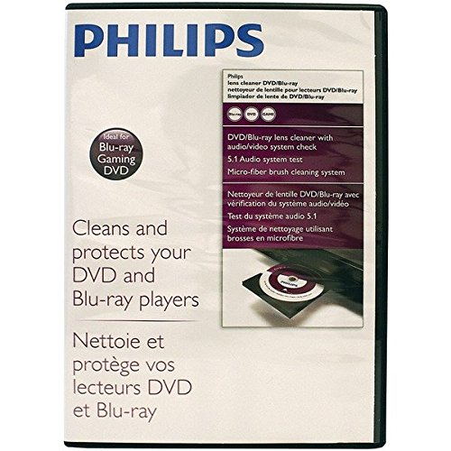 Blu Ray Lens Cleaner (Philips DVD/Blu Laser Lens Cleanr)